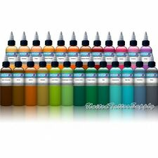 Intenze Tattoo Ink 25 Color Set 1 oz bottle - High Quality …