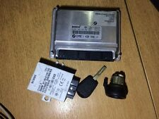 BMW e46 318 m43 ECU SET KIT EWS Chip di serie 3