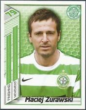 PANINI SCOTTISH PREMIER LEAGUE 2008- #090-CELTIC-MACIEJ ZURAWSKI