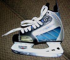 NEW Tour Code Blue Trufit Hockey Skates Juniors Size 5, 38 Euro