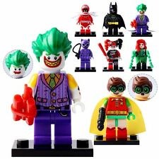 8PCS DC Figure Batman Robin Joker HarleyQuinn Figures Minifigure Custom For Lego