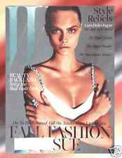 W Magazine September 2013 Fall Fashion Issue Cara Delevingne Cover