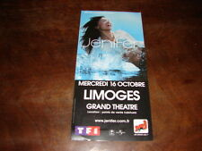 JENIFER - RARE FLYER CONCERT GRAND THEATRE OCTOBRE !!!!