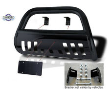 2014-Up Toyota Tundra Black Classic Bull Bar Powder Coated Push Bar Bumper