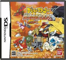 Used DS Digimon Story: Super Xros Wars Red Japan Import