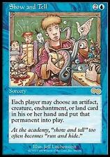 *MRM* FR Exposé libre - Show and Tell NM/Ex+ MTG Urza's saga