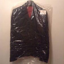 """Nouveau """"dimensions"""" taille 14 tailleur noir avec rouge couture veste ajustée blazer"""