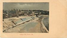 An Early View of A Wintry Day on College Hill, Easton PA 1903