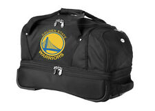 Denco Sports NBA Golden State Warriors Small Rolling Duffle Bag Luggage NIB