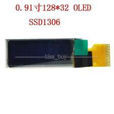 "0.91"" 128X32 OLED LCD LED Module white Display Screen for arduino stm32/51"