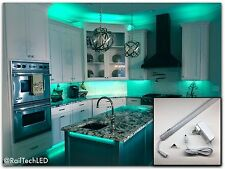 """Full Color Kitchen Cabinet LED lighting 40"""" With Built In Control and Remote"""