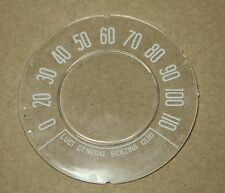 CLASSIC FIAT 500 SPEEDO FRONT SPEEDOMETER GLASS ROUND SPEEDO N D Model BRAND NEW