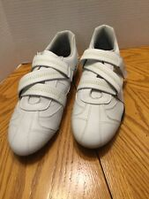 Ole'ion Men's Size 9 M White Stylish Shoes With Hook & Loop Closure Cooper