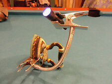 """Third Hand - 9"""" Long Gooseneck with 2"""" Wide Spring Clamps on Both Ends"""