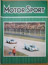 MOTOR SPORT JUN 1971 Opel Ascona 16S 55th Targa Florio Toledo GKN International
