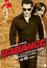 Dabangg (2010) Salman Khan, Sonakshi Sinha bollywood hindi movie dvd