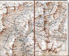 Schönau Rabenstein Passeier 1897 Teilkarte/Ln Belprato Corvara Schneeberg Kaindl