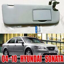HYUNDAI  2006-2010 Sonata   Driver Right  Inside Sun Visor Gray  85202-3K400QS