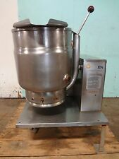 """ GROEN "" 20Qt. NATURAL GAS HEAVY DUTY COMMERCIAL STEAM JACKETED KETTLE ON STAND"