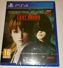 DEAD OR ALIVE 5 : Last Round PS4 New Sealed UK PAL Version Sony PlayStation 4