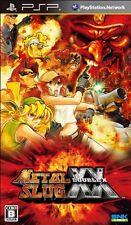 USED Metal Slug XX Japan Import Sony PSP