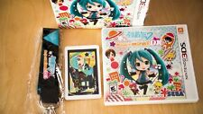 Hatsune Miku Project Mirai DX Nintendo 3DS Game Box Set + AR Cards + Chain