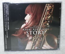 Kaori Kobayashi STORY The 10th Anniversary 2015 Taiwan Ltd CD+DVD