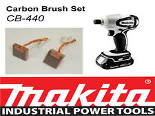 NEW Makita 18V LXT Impact Driver Bhp146 BTD140 Genuine CARBON BRUSH SET CB-440