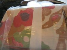 Pottery Barn Malena napkins red Set 4  New with tag