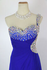 New Genuine JOVANI JVN91082 Royal Evening Prom Bridal Women Gown 10