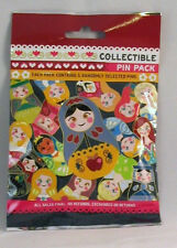 Disney Pin Collectible NESTING DOLLS Mystery Pack Random SEALED Set of 5