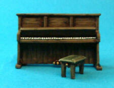 TQD MC06 20mm Diecast Diorama Items: Upright Piano and Stool