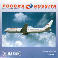 -  SCHABAK / SCHUCO  -  ROSSIYA BOEING 767-300  -  1:600  -  403551588  -  NEU
