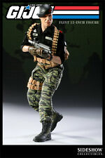 "G.I. Joe Flint 12"" inch figure Exclusive by Sideshow Collectibles Used"
