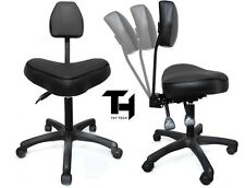 TAT TECH ERGONOMIC STOOL (BLACK) Tattoo Shop Equipment Furniture Supply Machine