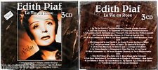 EDITH PIAF LA VIE EN ROSE 3 CD SIGILLATO (SEALED)