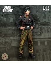 Escala 75 guerra frontal WSS petrolero NCO Segunda Guerra Mundial 1/35th Kit Sin Pintar Resina