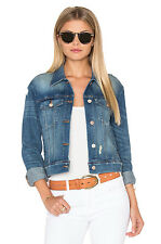 J Brand Harlow Shrunken Denim Jacket Fiction Size L (UK 12/14) Box4632 A