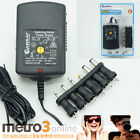 Multi Voltage Power Adapter 1000mA 3v 4.5v 5v 6v 9v 12v DC 1A Power Supply