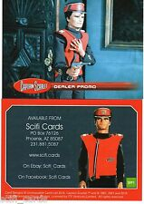 Captain Scarlet Dealer Promo SFP1 Scifi Cards Unstoppable Cards UK VERY Limited