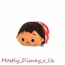 """NEW Disney Store Tsum Tsum Plush 3.5"""" Lilo & Stitch Hawaiian Hula Toy Doll Mini"""