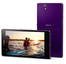 "New Unlocked Sony Xperia Z C6603 LTE 5.0"" 16GB WIFI Android OS SMARTPHONE Purple"