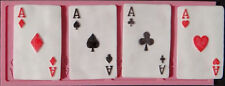 Aces Poker Playing Cards Silicone Mold for Fondant, Gum Paste, Chocolate, Crafts