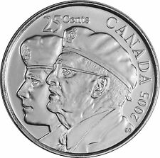 2005 CANADA YEAR OF THE VETERAN 25 CENT COIN MINT GRADE GEM COIN