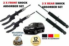 FOR VOLKSWAGEN VW TOUAREG 2002-2010 2X FRONT + 2X REAR SHOCK SHOCKER ABSORBER