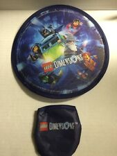 Video Game Lego Dimensions Foldable Frisbee Gamestop Exclusive Rare