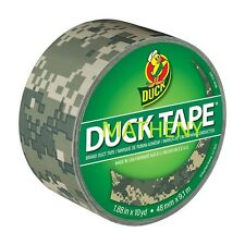 Digital Camo Print ~ Duck Brand Duct Tape ~ Hunting Camouflage ~ 10yds