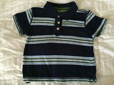 Baby Gap Toddler Boy Polo Shirt 12-18 months old stripes