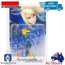 Nintendo Amiibo Character Zero Suit Samus For Wii 3DS Super Smash Bro Collection