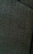 Vintage Yves Saint Laurent Made in France Striped  Sports Coat Blazer Jacket 44L